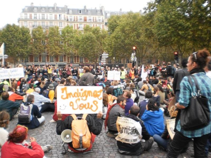 La marche des indignés arrive à Paris ce WE 31623510