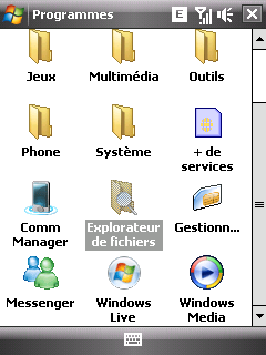 contacts - Rom manila FR by PD (Mise à jour du 18/12/08) Screen30