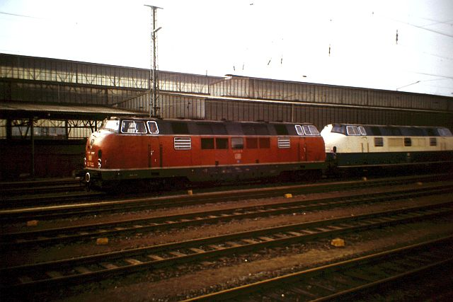 Baureihe 221 / V200.1 der DB 1132