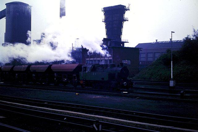 Dampfbetrieb in Alsdorf - 1986 - 1987 1135