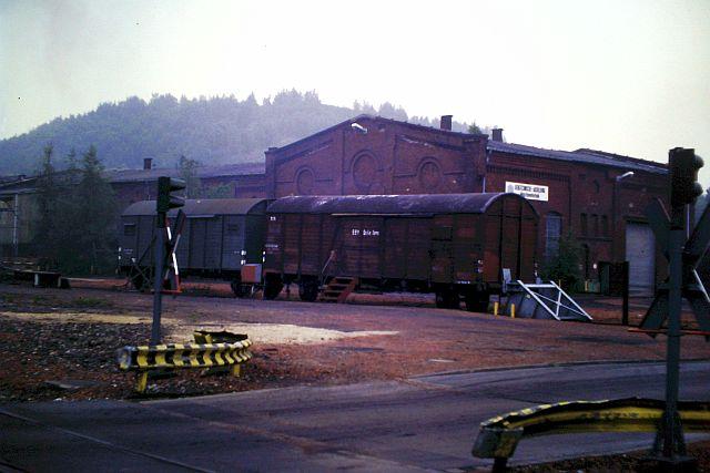 Dampfbetrieb in Alsdorf - 1986 - 1987 1136