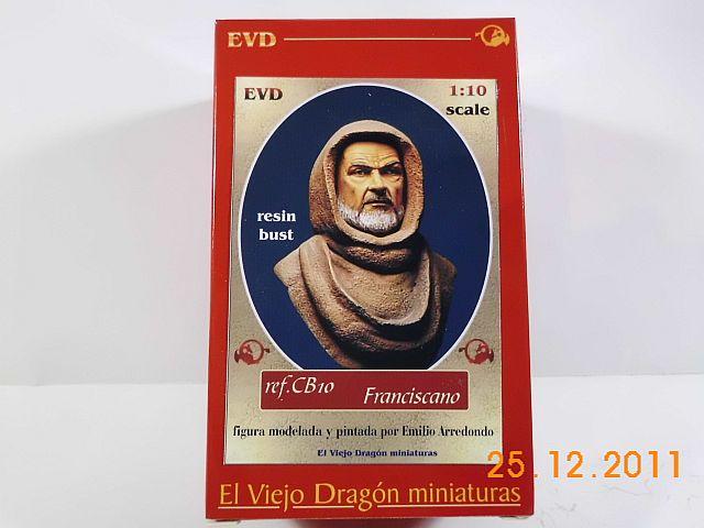 EVD El Viejo Dragon CB10 - Büste Franciscano 1/10 - Vorstellung 1138