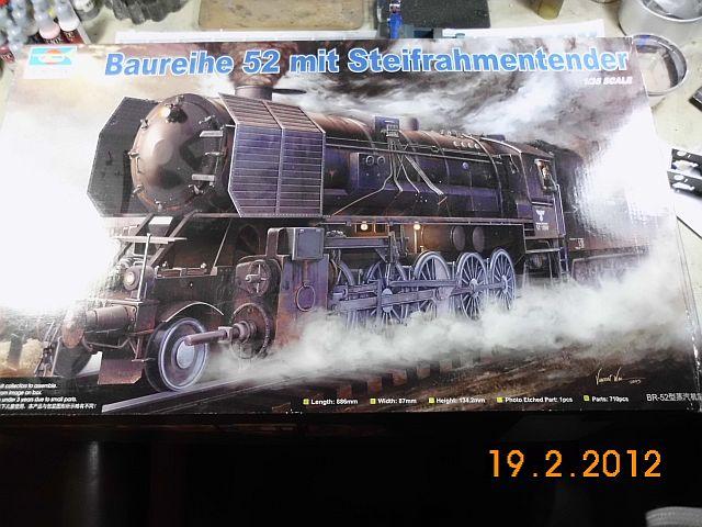 Dampflok 50kab auf Basis Trumpeter BR 52 in 1/35 - Baubericht 1173