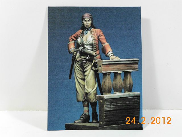 Romeo RM 75-006 - Anne Bonny 1720 - 75mm Zinnbausatz - Vorstellung 1180
