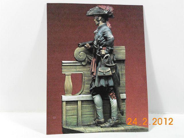 "Romeo RM 75-005 - Jack Rackham ""Calico Jack"" 1720 - 75mm Zinnbausatz von Romeo  1181"