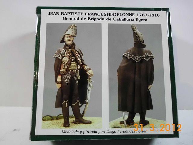 Art Girona GNDE-26 - General Francesci - Delonne, 54mm Zinnbausatz Vorstellung 1200