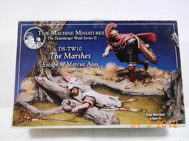 Time Machine DS-TW 10 - The marshes, Zinn/Resin - Bausatz 54mm, Vorstellung 1203