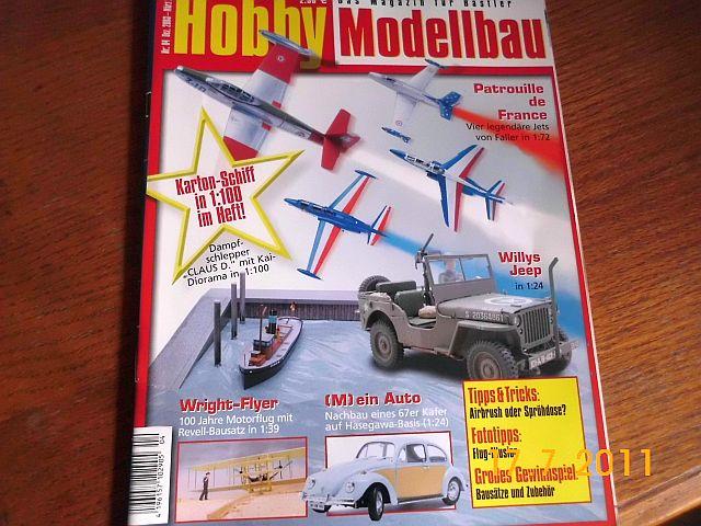 Hobby Modellbau - Schlepper Claus von HMV in 1/100 121