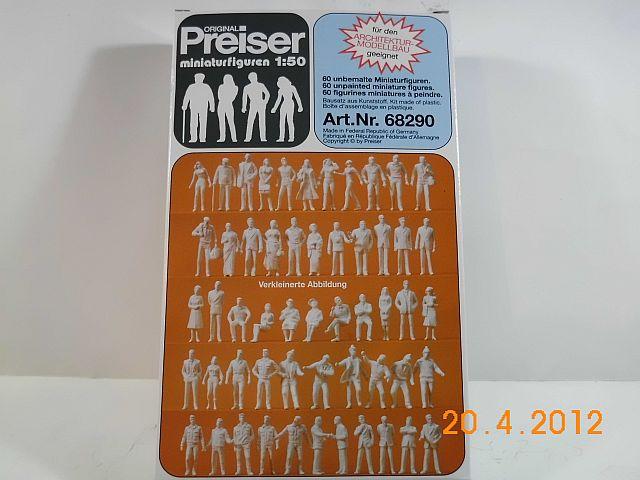 Preiser 68290 - Architekturfiguren in 1/50 unbemalt - Vorstellung 1227