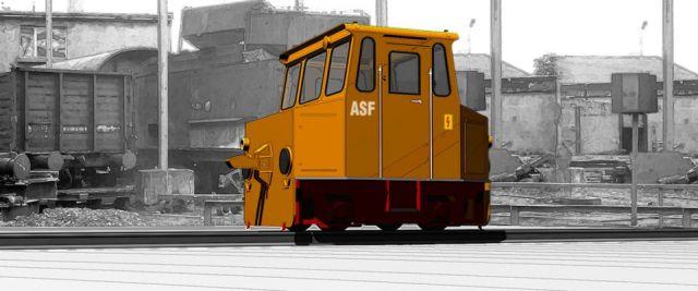 ASF (Akku - Lokomotive) in 1/25 zum kostenlosen Download 1253