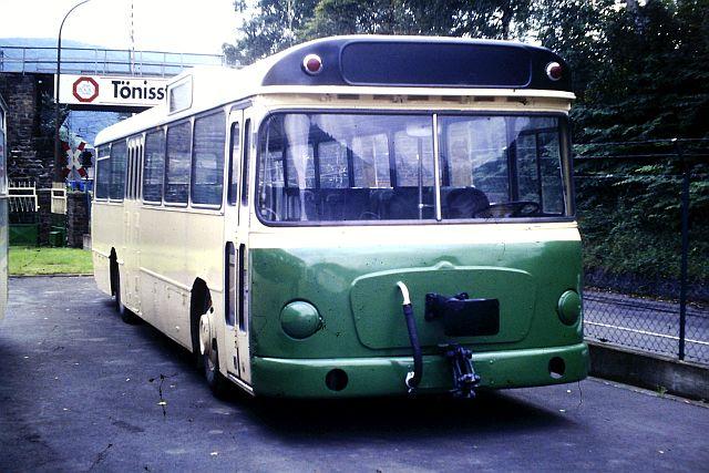 Die Brohltalbahn - Ein Besuch im Sommer 1987 und am 25.04.2019 erneut 1713