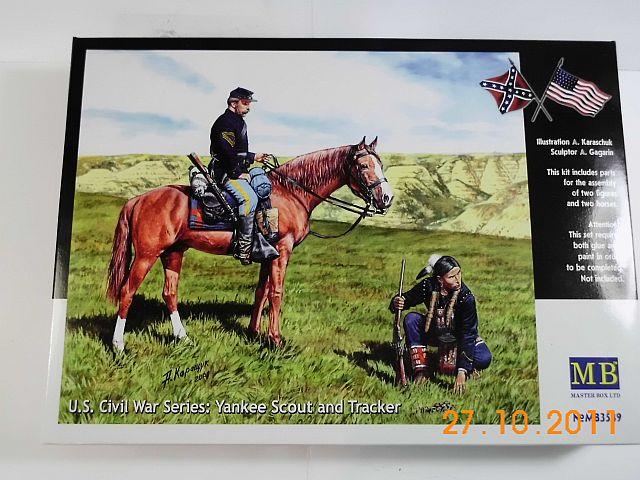MasterBox 3549 - Yankee Scout + Tracker 1/35 - Vorstellung 189