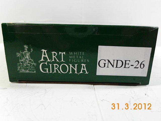 Art Girona GNDE-26 - General Francesci - Delonne, 54mm Zinnbausatz Vorstellung 1b12