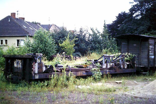 Die Brohltalbahn - Ein Besuch im Sommer 1987 und am 25.04.2019 erneut 2106