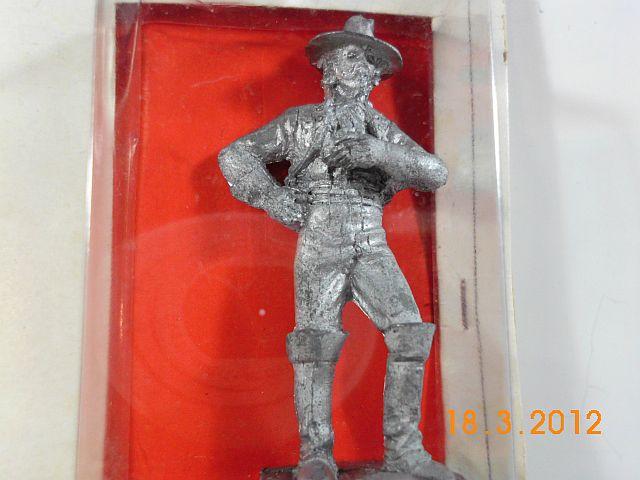 Amati 8078 - Konföderierter Kavallerist 1864 - 54mm Zinn, Vorstellung 2140