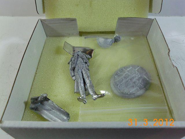 Art Girona GNDE-26 - General Francesci - Delonne, 54mm Zinnbausatz Vorstellung 2146
