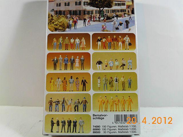 Preiser 68290 - Architekturfiguren in 1/50 unbemalt - Vorstellung 2161