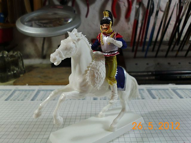 Waterloo 1815 - Cuirassier Angriff in 1/35 2179