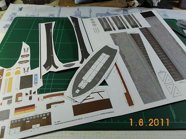 HMV Schlepper Claus 1/100 - Baubericht 222