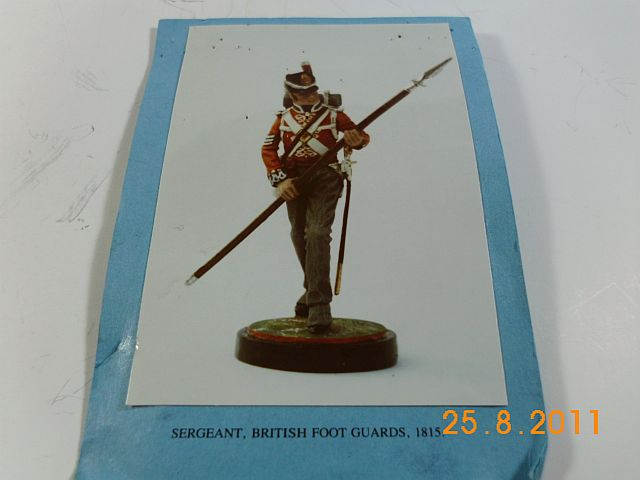 Sarum Studio - Sergeant d. Foot Guards 1815 - Vorstellung 2_bild10