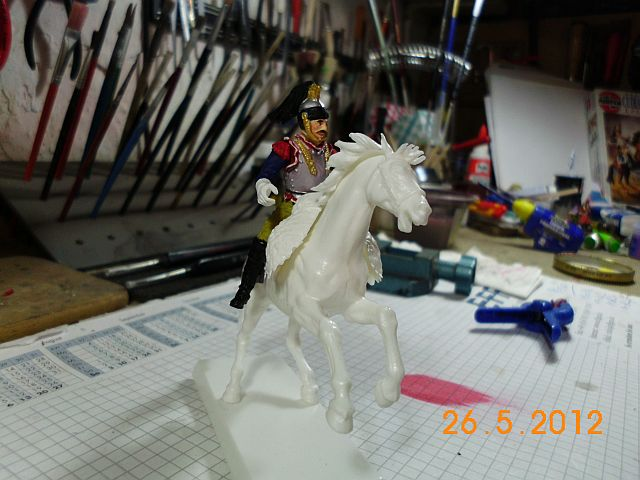 Waterloo 1815 - Cuirassier Angriff in 1/35 3125