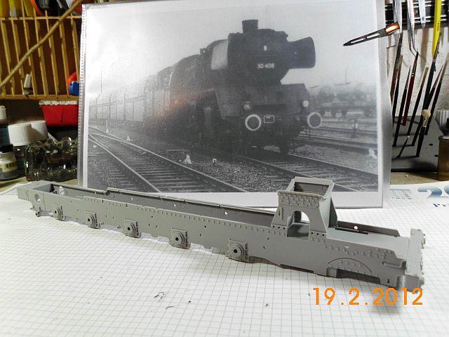 Dampflok 50kab auf Basis Trumpeter BR 52 in 1/35 - Baubericht 384