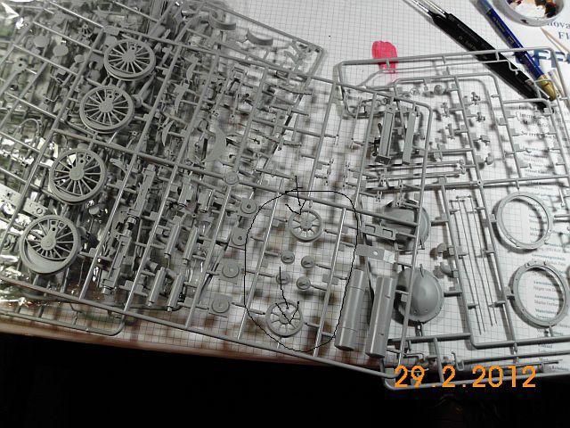 Dampflok 50kab auf Basis Trumpeter BR 52 in 1/35 - Baubericht - Seite 2 391