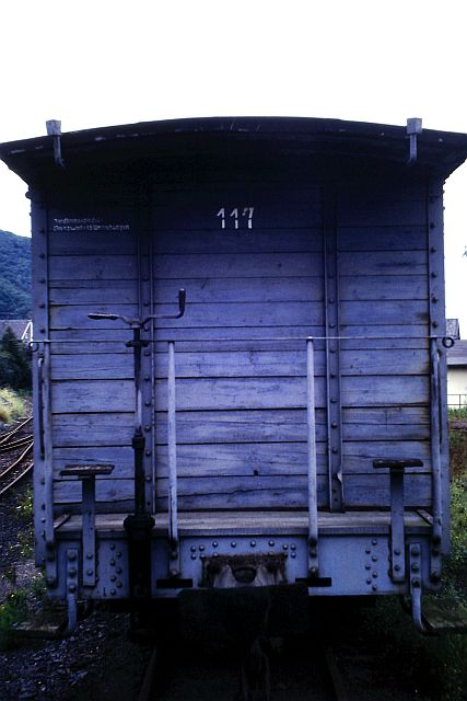 Die Brohltalbahn - Ein Besuch im Sommer 1987 und am 25.04.2019 erneut 3c11