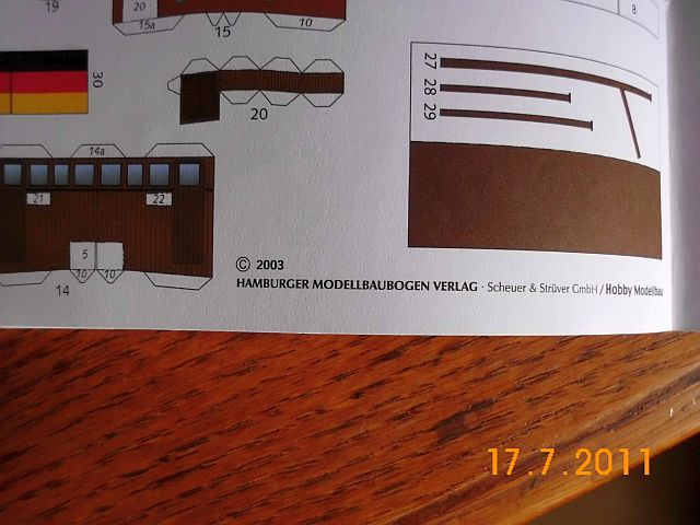 Hobby Modellbau - Schlepper Claus von HMV in 1/100 415