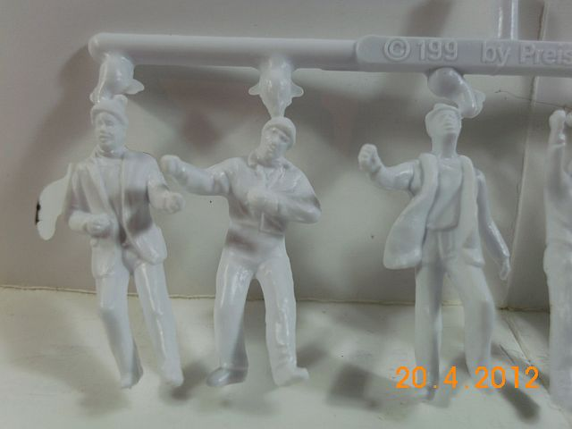 Preiser 68290 - Architekturfiguren in 1/50 unbemalt - Vorstellung 484