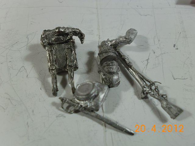 Müritz Miniaturen P842 - KGL 1815, Zinnbausatz 54mm - Vorstellung 485