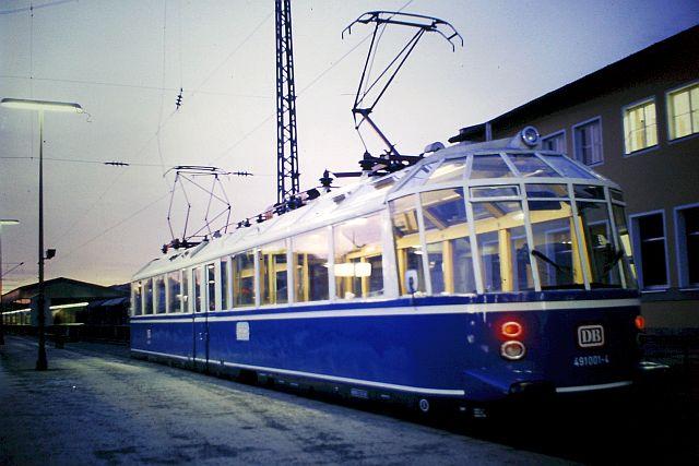 Der Gläserne Zug - DB 491 001 491_0010