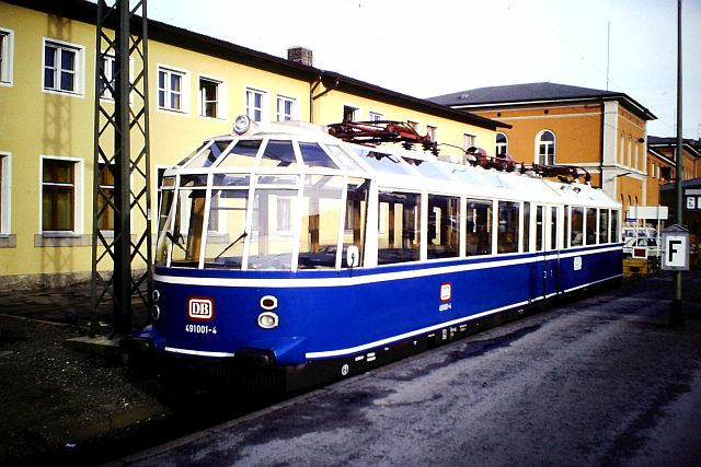 Der Gläserne Zug - DB 491 001 491_0011
