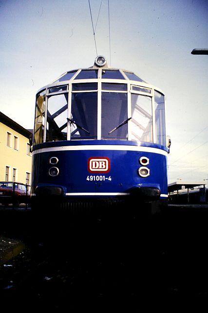 Der Gläserne Zug - DB 491 001 491_0012