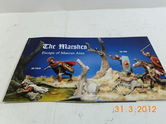 Time Machine DS-TW 10 - The marshes, Zinn/Resin - Bausatz 54mm, Vorstellung 4a13
