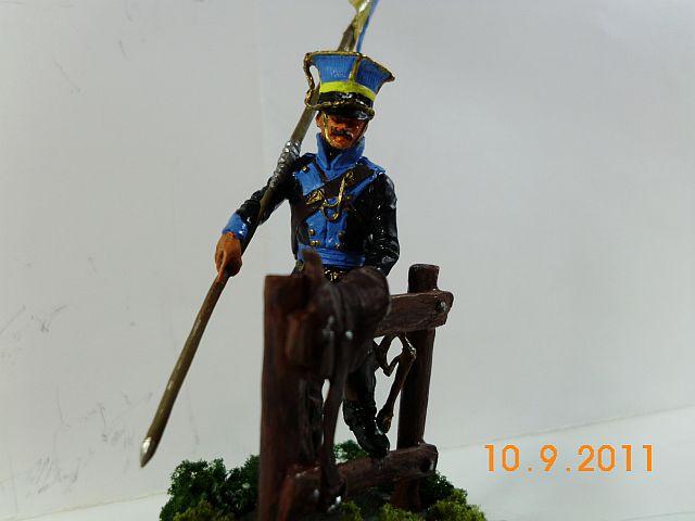 Müritz Miniaturen - Braunschweiger Ulan 1813 - 1815, 54mm Figur - Galerie 515