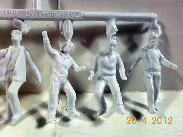 Preiser 68290 - Architekturfiguren in 1/50 unbemalt - Vorstellung 554