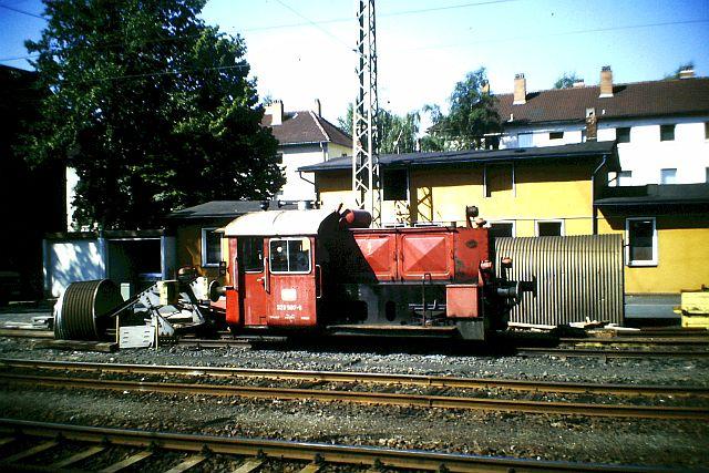 Kleindiesellok Köf II - DB-Baureihe 322-324 - DR BR 100 / 310 5_323_11