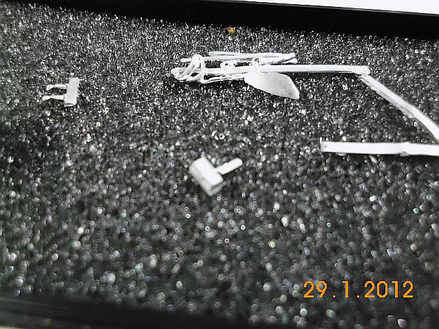 Andrea S7 F32 - Cuirassiers Toilette 1806 - Zinnbausatz 54mm - Baubericht 5_mess10