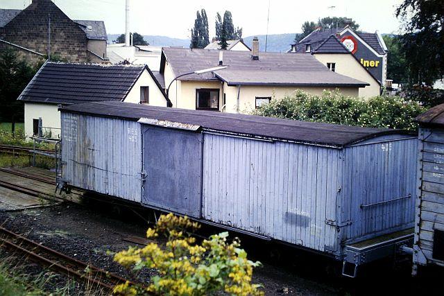 Die Brohltalbahn - Ein Besuch im Sommer 1987 und am 25.04.2019 erneut 629