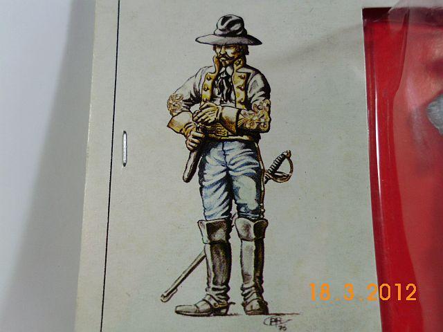 Amati 8078 - Konföderierter Kavallerist 1864 - 54mm Zinn, Vorstellung 637