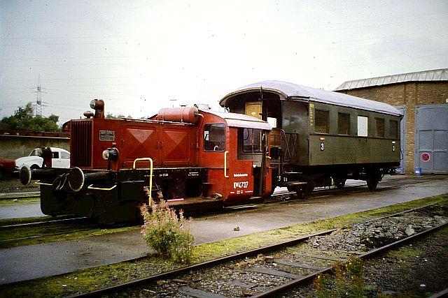 Kleindiesellok Köf II - DB-Baureihe 322-324 - DR BR 100 / 310 9_kaf_10
