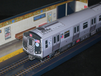 Papercrafts - U-Bahn Diorama mit Alstom R160A Einheit 1/140 kostenloser Download Alstom10