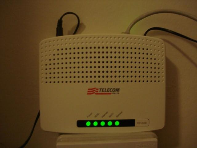 Modem ADSL2+ Wi-FI N Technicolor Telecom Italia - Pagina 4 Dsc01411