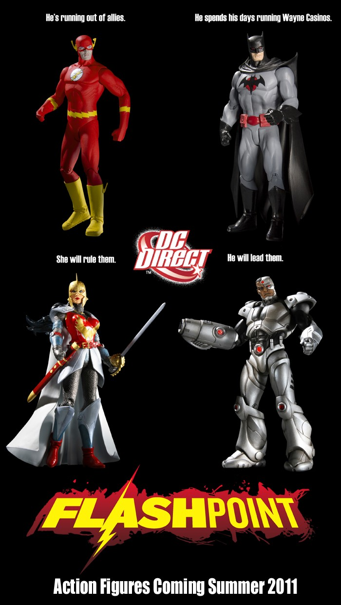 DC Direct Flashpoint action figures Ww_cyb10