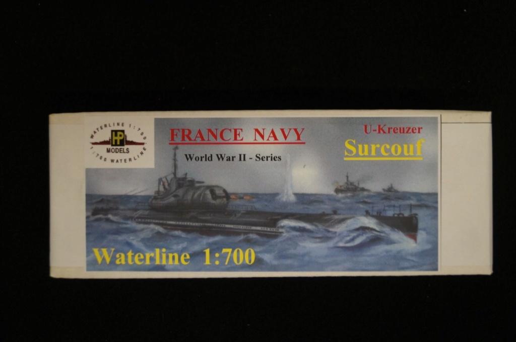 Le sous-marin SURCOUF 1/700 S-l16010