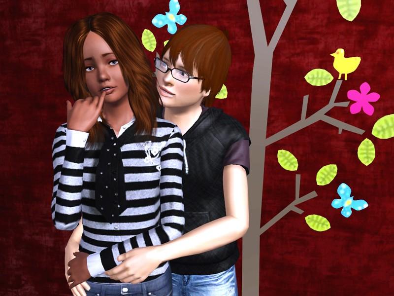 [Sims] Créations de Kloliane Couple10