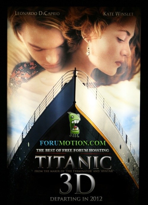 Welcome aboard for the 3D Titanic contest !  Titani11