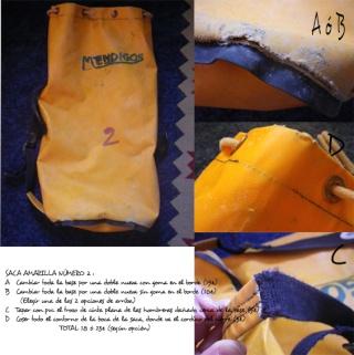 Si quieres reparar las sacas de espeleo _presu11