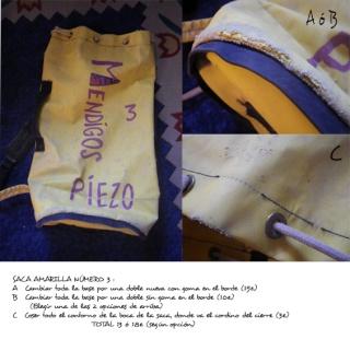 Si quieres reparar las sacas de espeleo _presu12